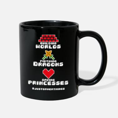 Console Gaming Gamer Video Games PC Computer MMORPG Gift - Full Color Mug