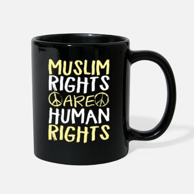 Human Rights Muslim Rights Are Human Rights - Full Color Mug