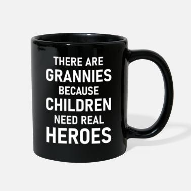 Granny is a real hero - Full Color Mug