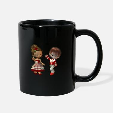Fred Virginia and Fred - Full Color Mug