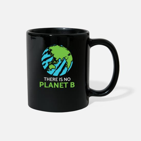 Fridays For Future Mugs & Drinkware - Fridays for Future Climate Protection Environment - Full Color Mug black