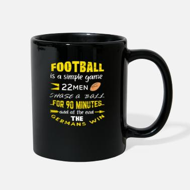 Football Quote football quote - Full Color Mug