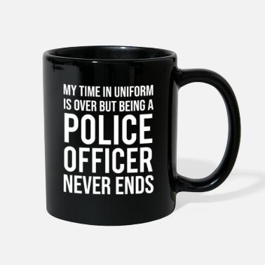 My Time In Uniform Retired Police Officer T-shirt - Full Color Mug