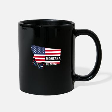 Us State Montana US State - Full Color Mug