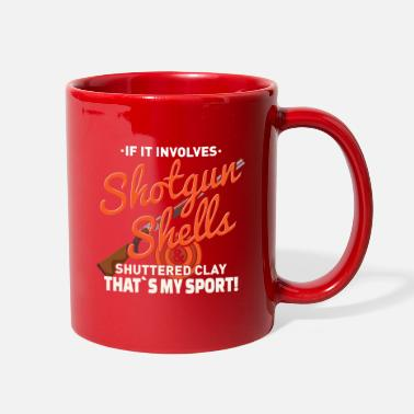 Skeet Shooting SKEET SHOOTING: Shotgun Shells - Full Color Mug