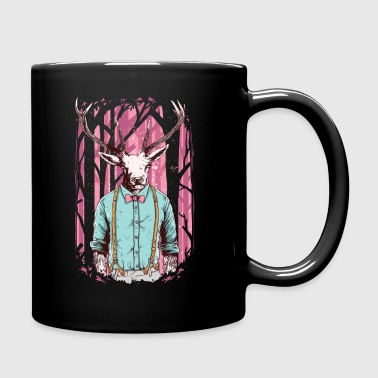 Fashion Deer with Bow Tie - Full Color Mug