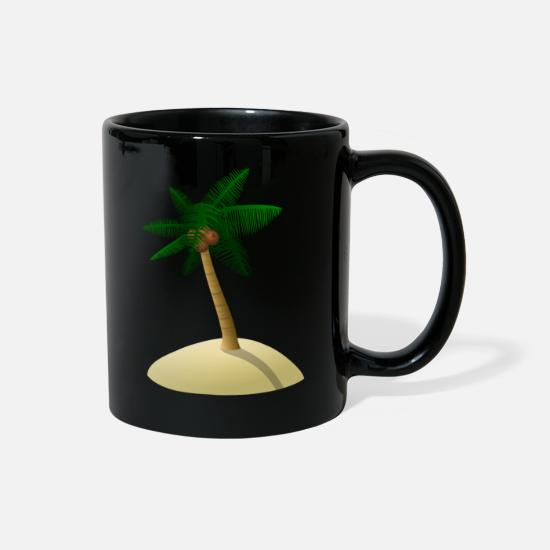 Tree Mugs & Drinkware - coconut tree - Full Color Mug black