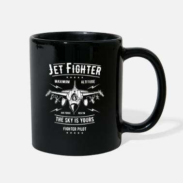 Fighter Jet Jet Fighter - Full Color Mug