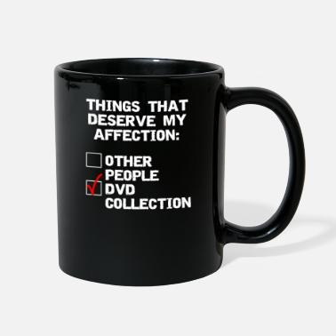 Dvd DVD collector funny affection - Full Color Mug