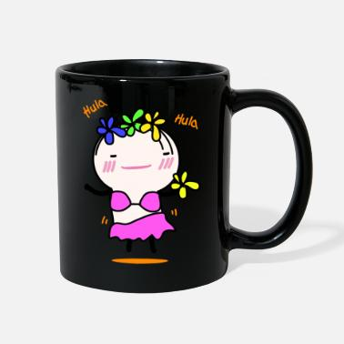 Hula Dancer oniong -hula hula - Full Color Mug
