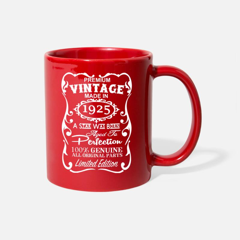 92nd Birthday Gift Ideas For Men And Women Unique Full Color Mug