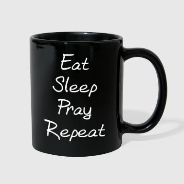 Pray Eat sleep pray repeat - Full Color Mug