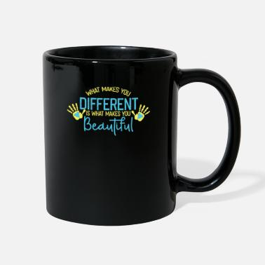 21 Down Syndrome Awareness Chromosome Quote Gift - Full Color Mug