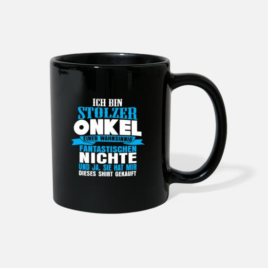Uncle Mugs & Drinkware - Uncle - Full Color Mug black