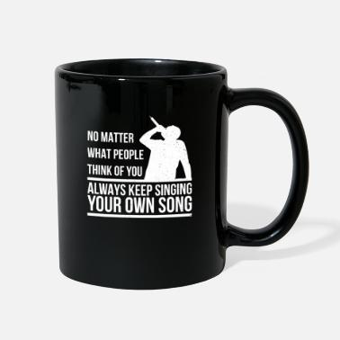 Singer Singer - Full Color Mug