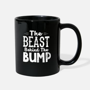 Pregnancy Pregnancy Announcement The Beast Behind the Bump - Full Color Mug