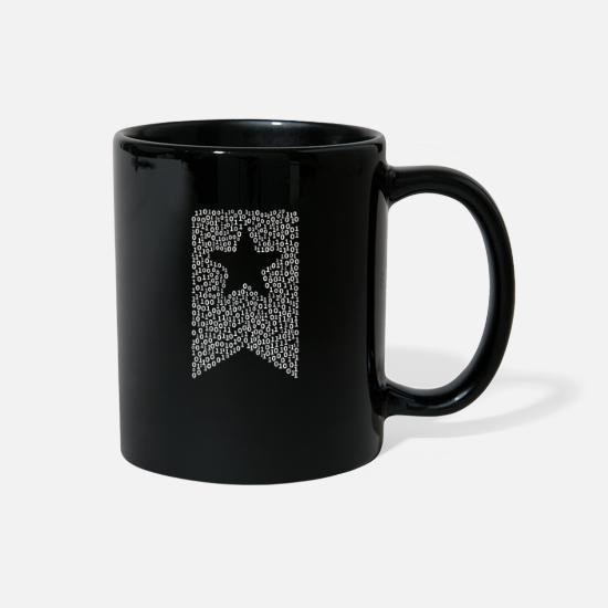 Bookmark Mugs & Drinkware - Binary Bookmark - Full Color Mug black