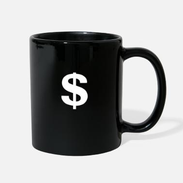 Dollar-sign $ (Dollar sign) - Full Color Mug