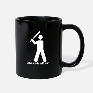Baseball Baseballer - Full Color Mug