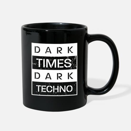 Dark Times Dark Techno Full Color Mug | Spreadshirt