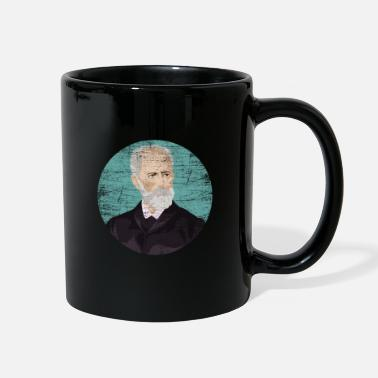 Musical Pyotr Tchaikovsky Composer - Full Color Mug