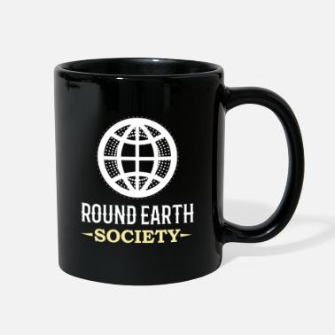 Flat Earth EARTH: Round Earth Society - Full Color Mug