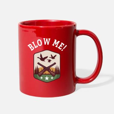 Quack DUCK HUNT: Blow Me! - Full Color Mug