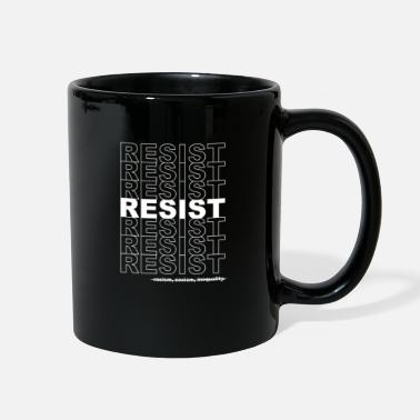 Politics Resist Politics Political - Full Color Mug