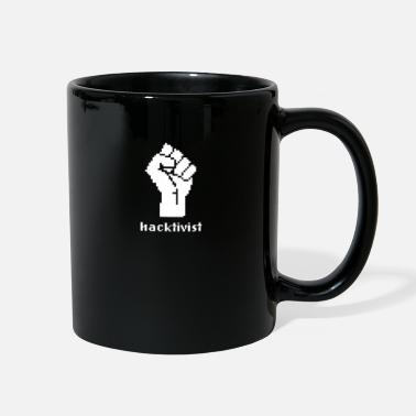 Politics Hacktivist Political Politics - Full Color Mug