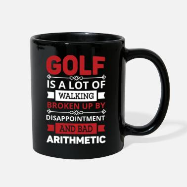Arithmetic Golf disappointment and bad arithmetic - Full Color Mug