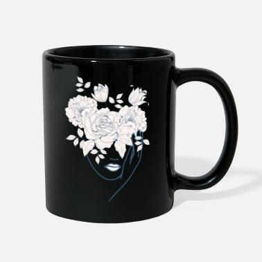 Half Moon Beautiful Nymph Design - Full Color Mug
