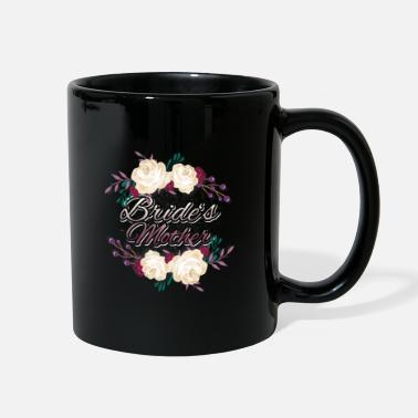 Marriage Proposal hen farewell bride mother present rose - Full Color Mug