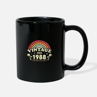Old School Vintage Since 1988, Birthday Gift For Men And - Full Color Mug