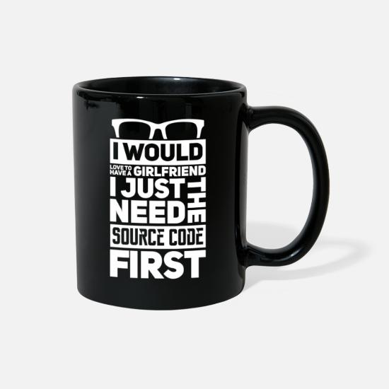 Girlfriend Mugs & Drinkware - Programmers Girlfriends - Full Color Mug black
