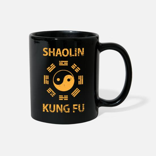 Shaolin Mugs & Drinkware - Shaolin Kung Fu - Full Color Mug black