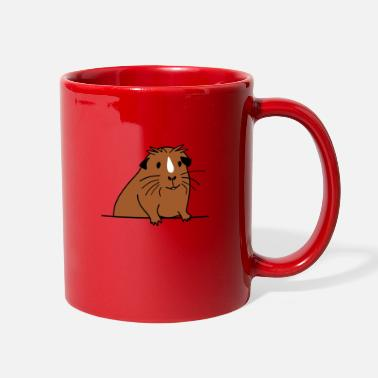 Cute brown guinea pig - Guinea pig gifts - Full Color Mug