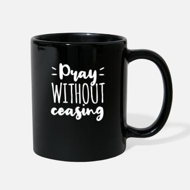 Communism Pray Without Ceasing Gott Jesus Geschenk - Full Color Mug