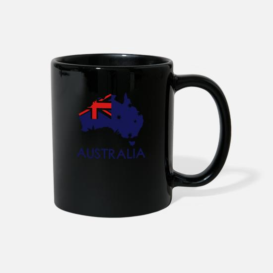 Australian Mugs & Drinkware - australia - Full Color Mug black