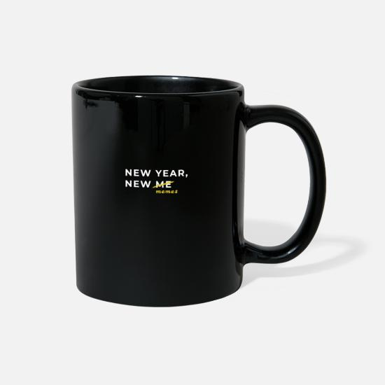 Love Mugs & Drinkware - New Year New Memes - Full Color Mug black