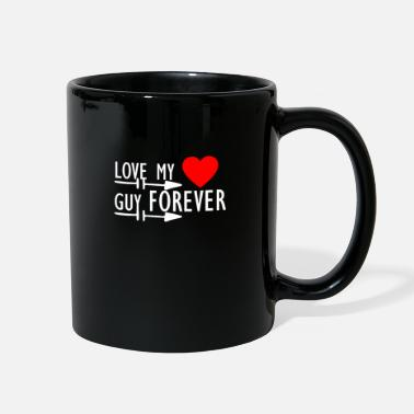 Young cool stylish valentines Love Design - Full Color Mug