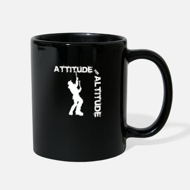 Switzerland Attitude for altitude - Climbing, Bouldering, Moun - Full Color Mug