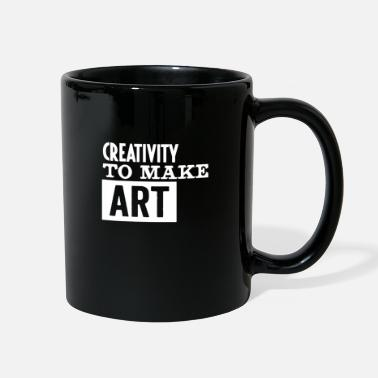 Artist Creativity to make art funny - Full Color Mug