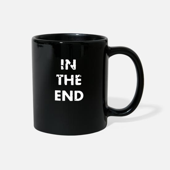 Funny Animals Mugs & Drinkware - In the end funny - Full Color Mug black