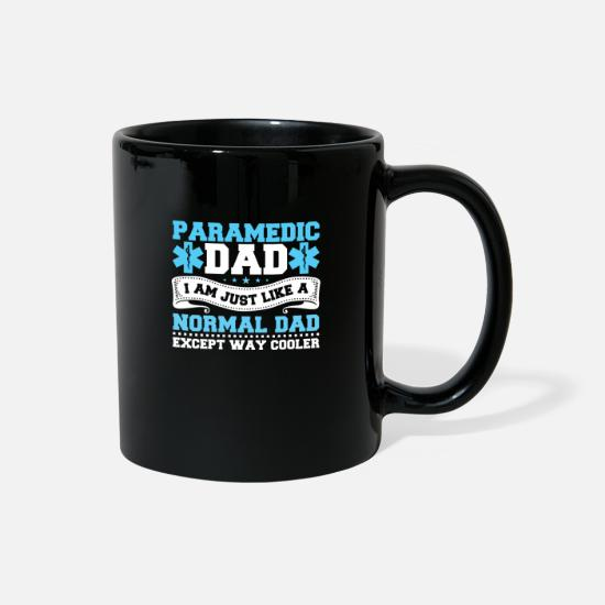 Gift Idea Mugs & Drinkware - Paramedic dad - Full Color Mug black