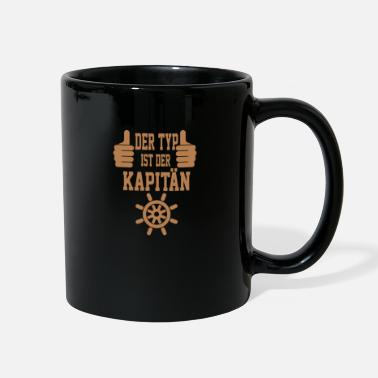 Boating Type captain gift boat sailor sailboat - Full Color Mug