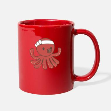Headband Octopus with headband - Full Color Mug