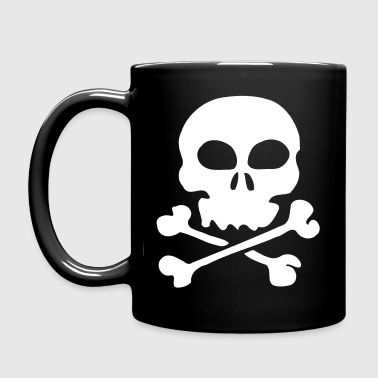 Skull And Crossbones - Full Color Mug
