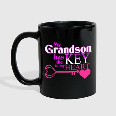 Grandson Grandmother - Full Color Mug