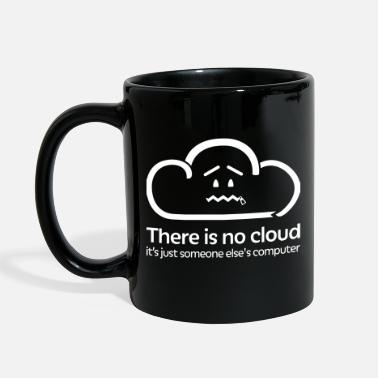 Cloud Computing There Is No Cloud - Hollow - Full Color Mug