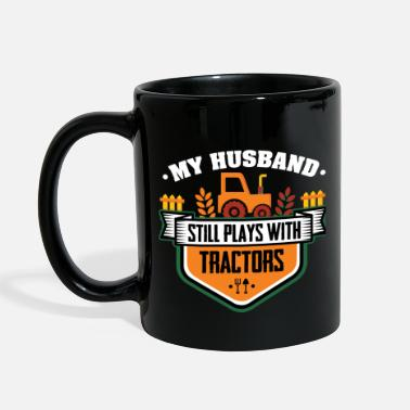 Farmer Farmer Play with Tractors - Full Color Mug